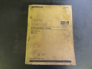 1991 cat 416 backhoe parts manual