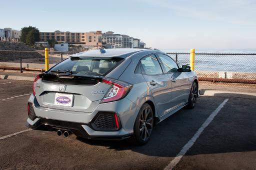 stock honda civic si manual 0-60