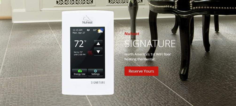 nuheat home programmable thermostat manual