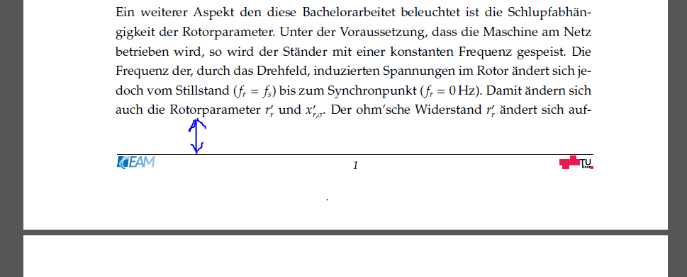 latex manually add page number