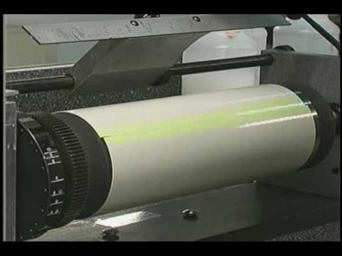 process for manually cutting film