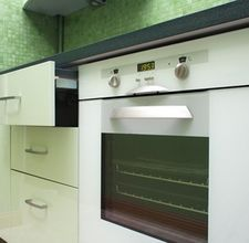 how to clean a self cleaning electric oven manually