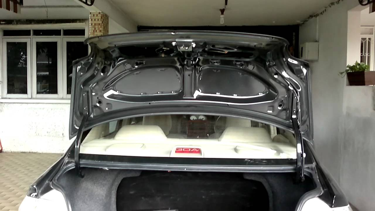 where is manual trunk release 2008 cadillac
