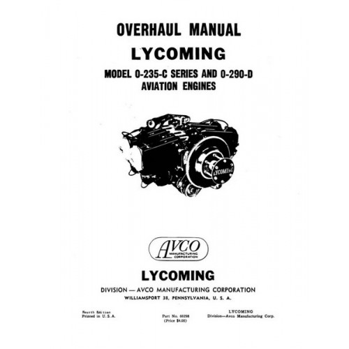 lycoming 0-360 service manual