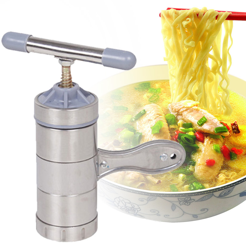 kabalo stainless steel 6 piece manual noodle maker