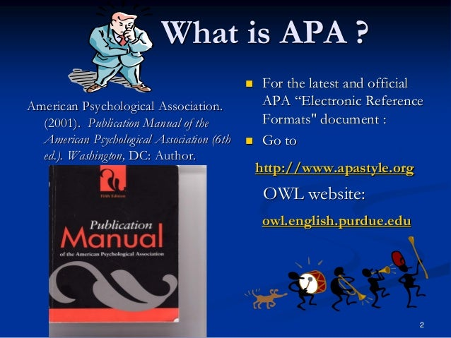 publication manual of the american psychological association 6th ed 6th