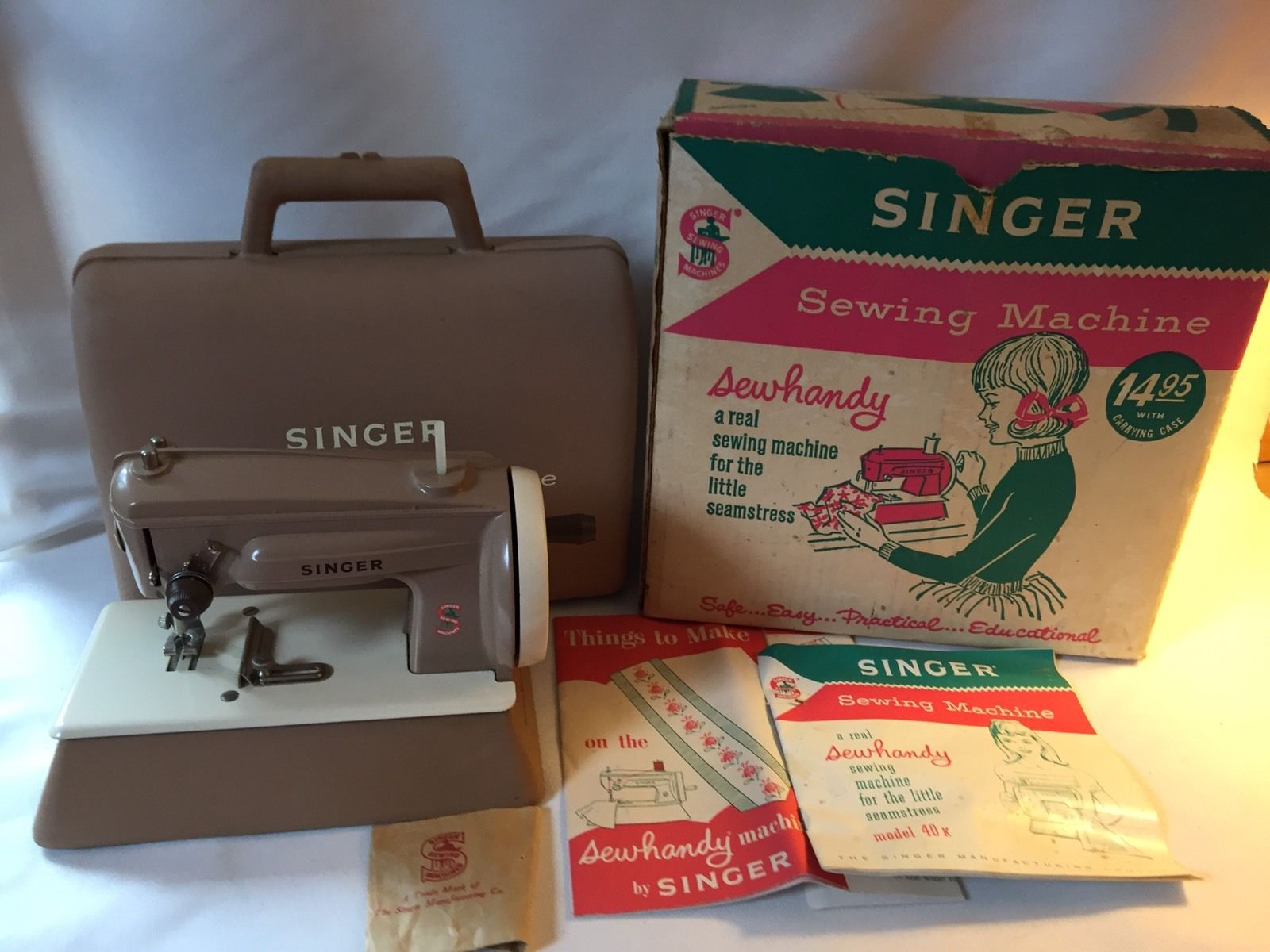white sewing machines manuals on singer site